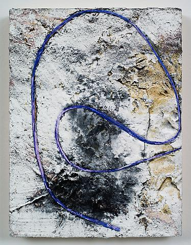 Loop #36 (2012) Acrylic on panel 12h x 9w in (30.48h x 22.86w cm)