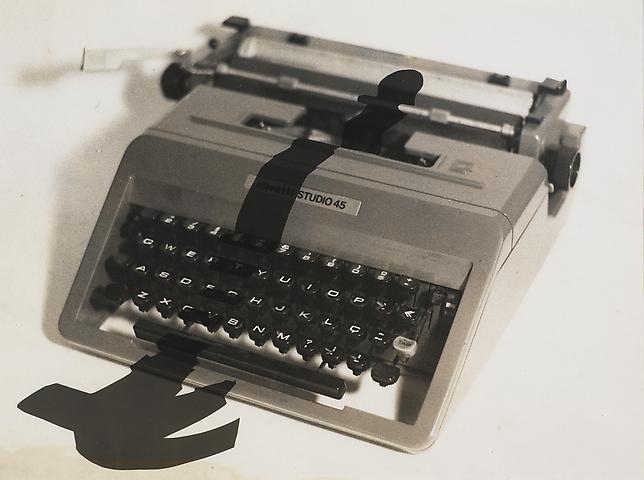 Enigma 3 (1981) Photogram 11h x 15w in (27.94h x 38.1w cm)