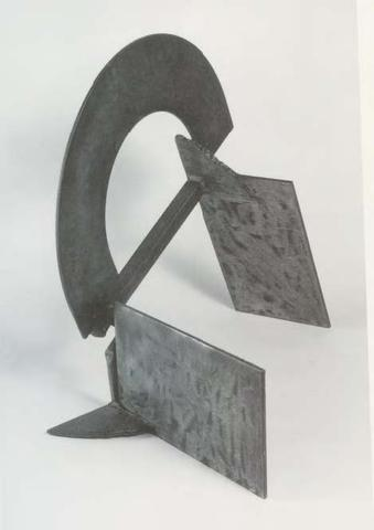 Nick's Advice (1975) Steel 19.5h x 23w x 14.5d in (49.5h x 58.4w x 36.8d cm)