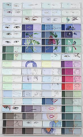 Considering Condoleeza (2006) Mixed media 20h x 36w in (50.8h x 91.44w cm)