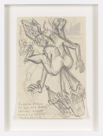 Untitled (c. 1931) Graphite on paper 9.21h x 6.18w in (23.4h x 15.7w cm)