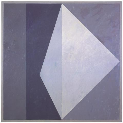 Alternative VIII (Q1-78 #4) (1978) Oil on canvas 54h x 54w in (137.2h x 137.2w cm)