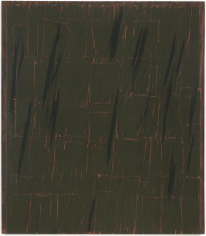 WS #2 (1968) Oil on canvas 80h x 70w in (203.2h x 177.8w cm)