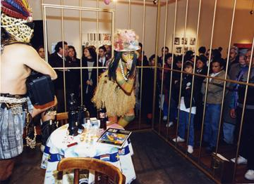 The Year of the White Bear and Two Undiscovered Amerindians Visit the West  (1992-1994) Performance