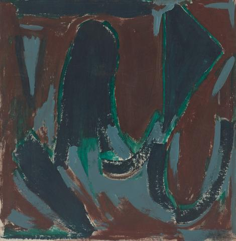 End of Winter (1958–1959) Oil on canvas  37.75h x 37w in (95.9h x 94w cm)