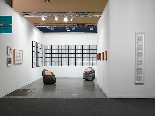 Art Basel Miami Beach 2010 Luis Camnitzer, Paul Ramírez Jonas Installation view