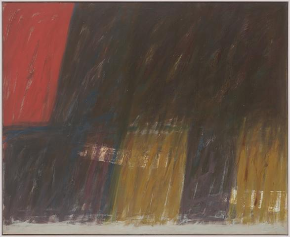 Nightfall (1961) Oil on canvas  62h x 76w in (157.5h x 193w cm)