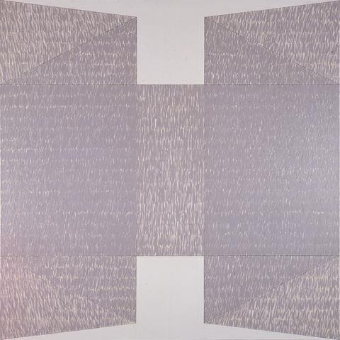 Q3-74 #2 (1974) Oil on canvas  72h x 72w in (182.9h x 182.9w cm)