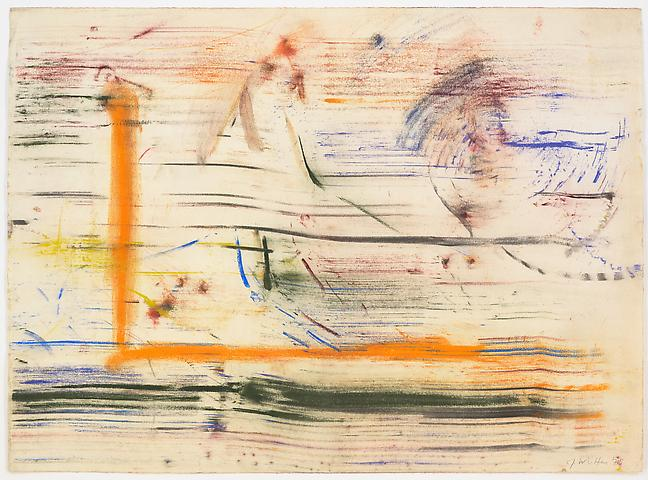 Study for Lapsang and Chinese Sincerity #6 (1975) Pastel on paper 19h x 26w in (48.26h x 66.04w cm)
