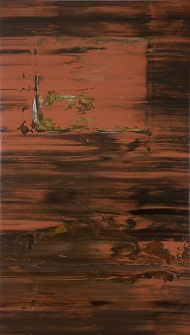 Jack Whitten Sorcerer's Apprentice (1974) Acrylic on canvas; 88.25h x 50.5w in (224.16h x 128.27w cm)