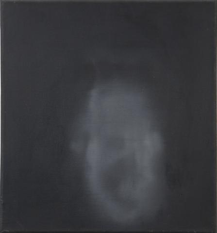 Head VII (1964) Acrylic on canvas 23.1h x 21.8w in (58.7h x 55.4w cm)