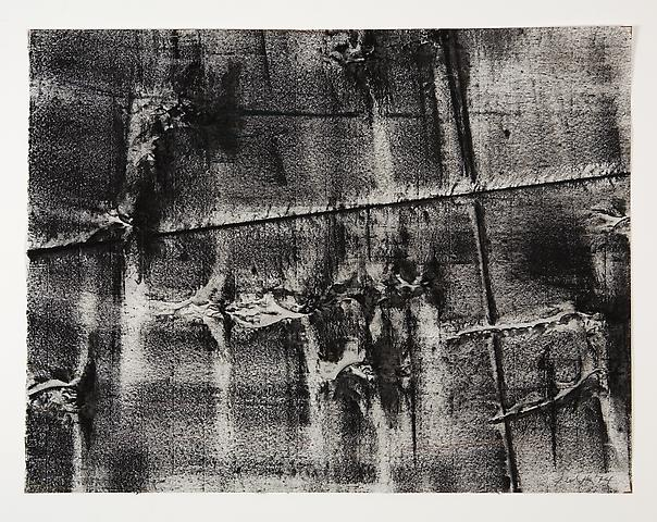 Broken Spaces V (1974) Toner on paper 22h x 17w in (55.88h x 43.18w cm)