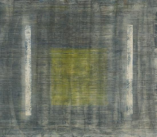 Jack Whitten  Sphink's Alley III (1975) Acrylic on canvas; 73h x 84w in (185.4h x 213.4w cm)