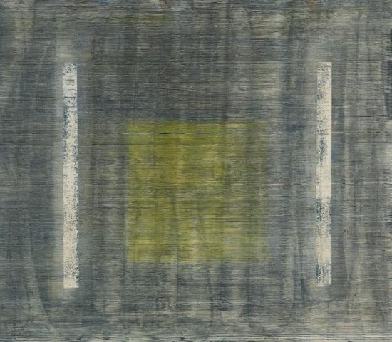 Sphink's Alley III (1975) Acrylic on canvas 73h x 84w in (185.4h x 213.4w cm)