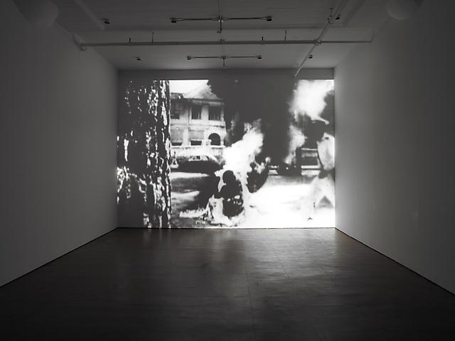 Before I Close My Eyes (2010) Video; Edition of 3 with 1 AP Installation view, Alexander Gray Associates