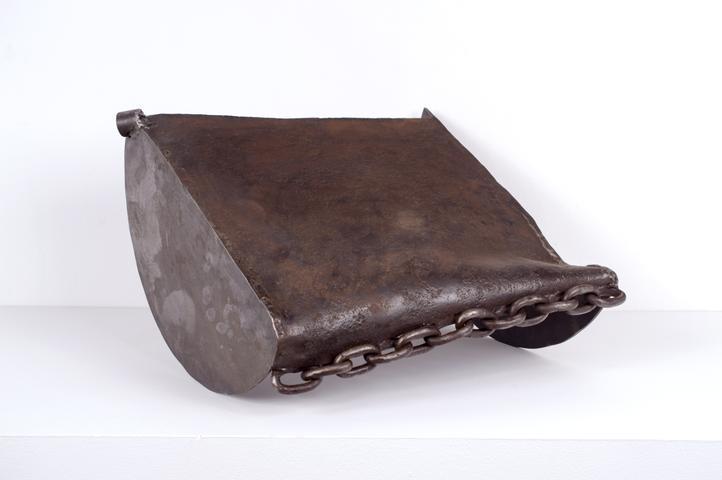 Untitled Rocker (c. 1990) Welded steel 11.5h x 16.5w x 17.5d in (29.2h x 41.9w x 44.5d cm)