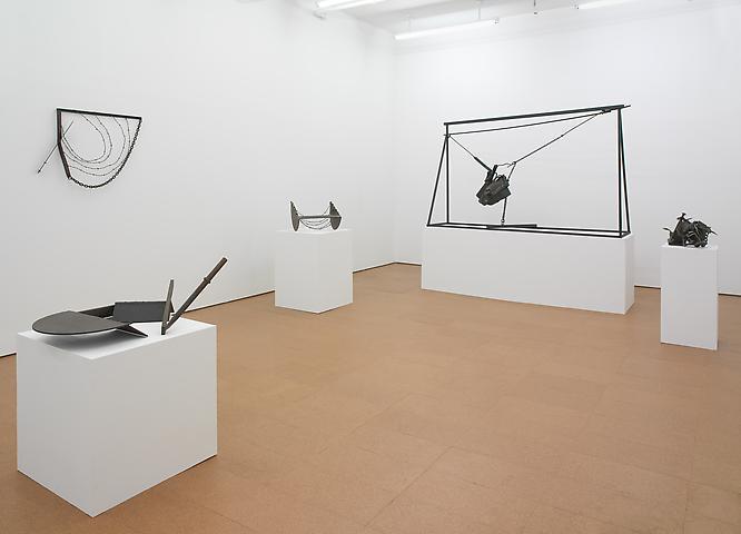 Melvin Edwards: Sculptures 1964-2010 Installation view, Alexander Gray Associates (2010)