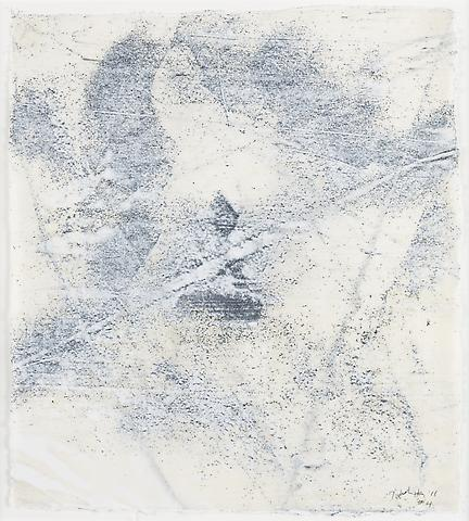 Nemesis 4 (2011) Graphite and acrylic on rice paper 14h x 12.25w in (35.56h x 31.12w cm)