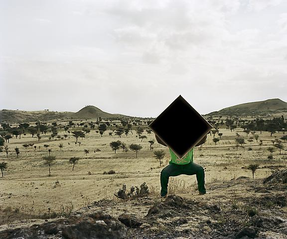 Single Cube Formation, No. 4, Nazareth, Ethiopia (2011) Chromogenic digital print; Edition of 5 with 1 AP 30h x 36w in (76.2h x 91.44w cm)