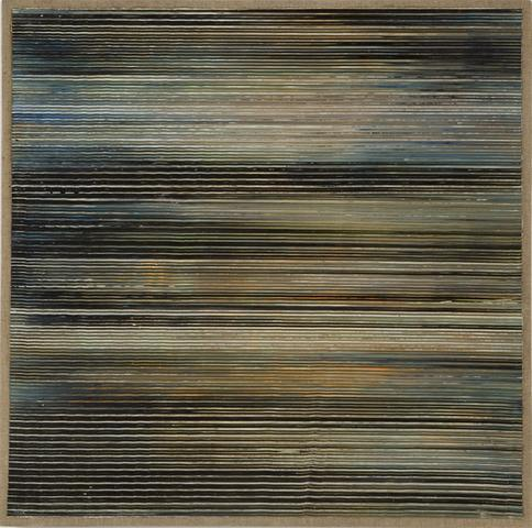 Untitled (1970) Acrylic on linen 25.6h x 23.8w in (65h x 60.5w cm)