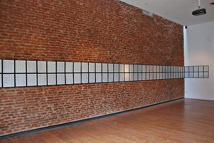 Luis Camnitzer: Memorial Installation view Museo de la Memoria (2010)