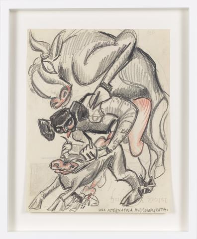 Untitled (c. 1931) Color pencil in paper 10.67h x 8.27w in (27.1h x 21w cm)
