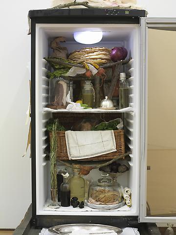 J. Morgan Puett Scrabble Dinner Hoosh (Interior) (2008)  Installation