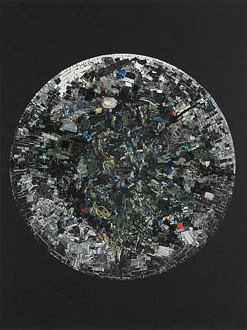 Jack Whitten Black Monolith V Full Circle: For LeRoi Jones AKA Amiri Baraka (2014) Acrylic on canvas; 84h x 63w in (213.4h x 160w cm)