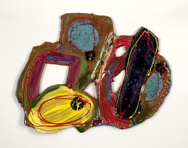 Yoko (2016) Ceramic 17h x 14w in (43.2h x 35.6w cm)