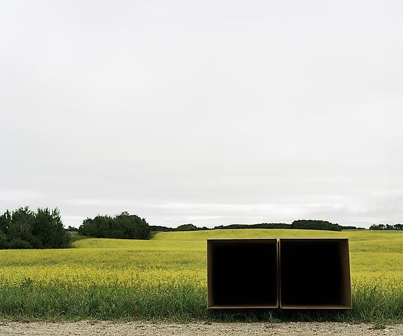 Double Cube Formation, No. 1, Saskatoon, SK (2011) Chromogenic digital print; Edition of 5 with 1 AP 20h x 24w in (50.8h x 60.96w cm)