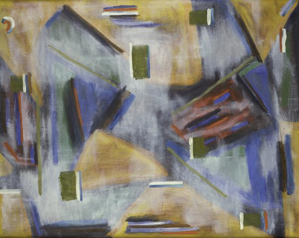 March 3rd (1962) Acrylic on canvas 30h x 40w in (76.2h x 101.6w cm)