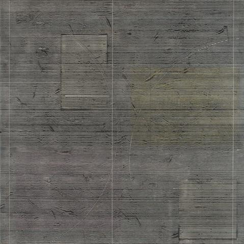 Sigma IV (1978) Acrylic on canvas 64h x 63.5w in (162.6h x 161.3w cm)