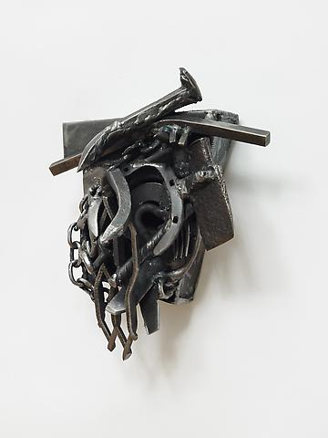 Melvin Edwards Addis A. (2007) Welded steel; 13h x 10.25w x 7.5d in (33.02h x 26.04w x 19.05d cm)
