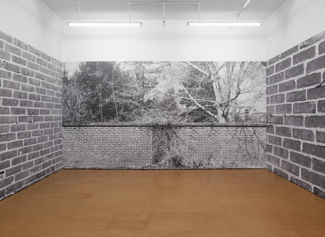Bricks (Installation) (1974/2012) Digital print on vinyl