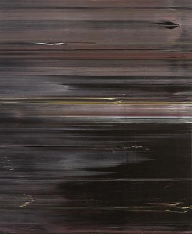 Black Table Setting (Homage to Duke Ellington) (1974) Acrylic on canvas 72h x 60w in (182.88h x 152.4w cm)