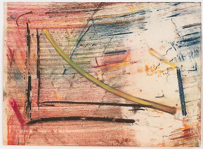 Study for Lapsang and Chinese Sincerity #10 (1975) Pastel on paper 9.5h x 13w in (24.13h x 33.02w cm)