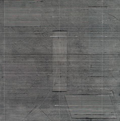Sigma Group II (1977-1978) Acrylic on canvas 64h x 63.25w in (162.6h x 160.7w cm)