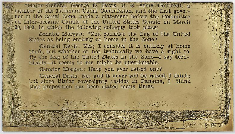 Amanaplanacanalpanama (1995) Mixed media, Part 42 of 49