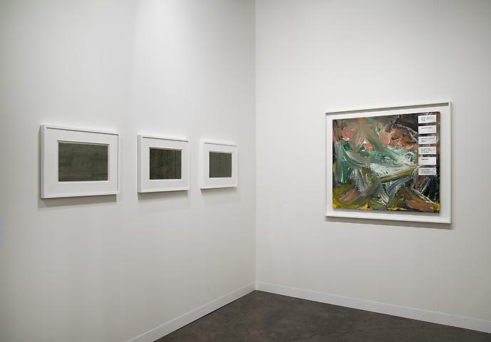Luis Camnitzer  Kabinett Art Basel Miami Beach 2013 Installation view
