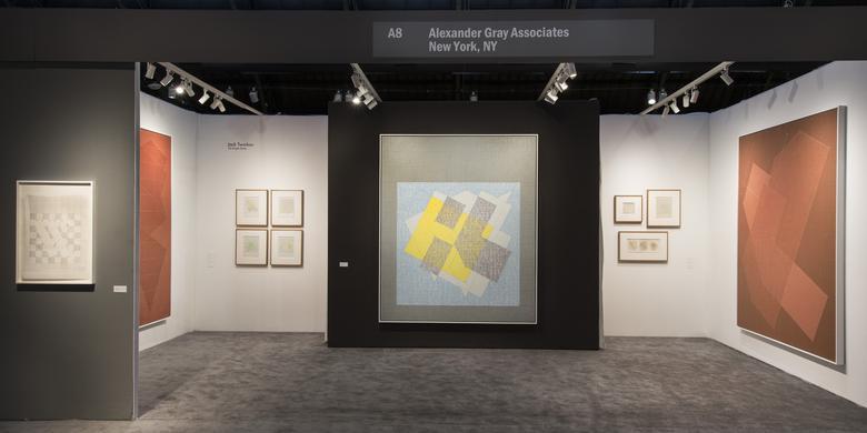 Alexander Gray Associates ADAA: The Art Show 2016 Installation view