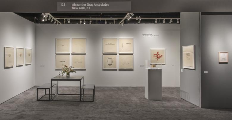 Alexander Gray Associates ADAA: The Art Show 2017 Installation view