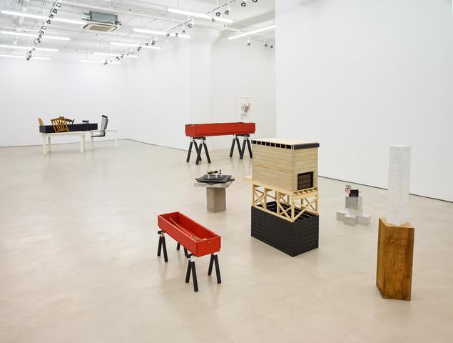 Siah Armajani, installation view, Alexander Gray Associates (2016)