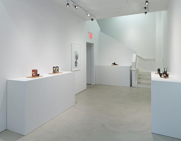 Siah Armajani: The Tomb Series Installation view, Alexander Gray Associates (2014)