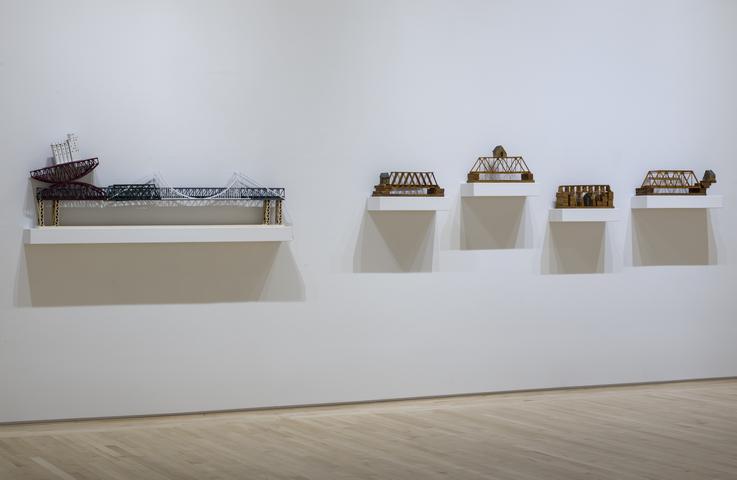 <i>Siah Armajani: Bridge Builder</i>, installation view, Kemper Museum of Contemporary Art (2016)