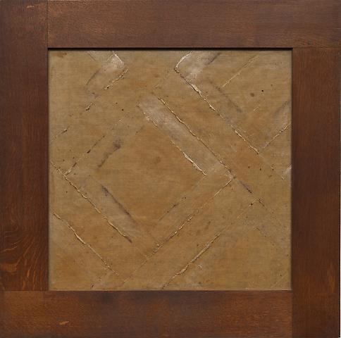 Heidi Bucher Parkett (nd) Latex and cotton; 23.6h x 23.6w in (59.9h x 59.9w cm)