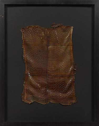 Villa Bleuler (c. 1991) Latex on textile 17.7h x 12w in (38.1h x 24.9w cm)
