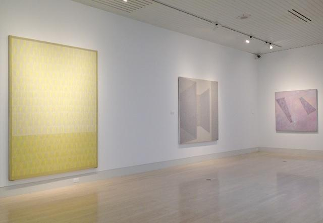 <i>Jack Tworkov: Important Paintings from the 70s</i>, installation view, The Butler Institute of American Art (2015)