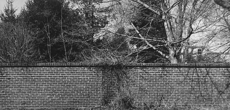 Bricks (1974/2012) Fiber print; Part 4 of 4; 4.88h x 10w in (12.4h x 25.4w cm) Edition of 8 with 1 AP