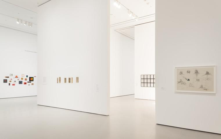 Installation view of <i>Scenes for a New Heritage: Contemporary Works from the Collection</i>, The Museum of Modern Art, 2015.  Photo by Thomas Griesel. © The Museum of Modern Art, New York