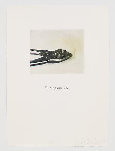 The Tool Pleased Him (1983-84) Photo etching in 35 parts; 29.53h x 21.65w in (75.01h x 54.99w cm) Edition of 15 with 1 AP